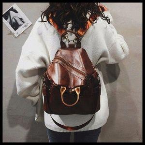 NEW EDISON Multi Function Backpack Shoulder Bag
